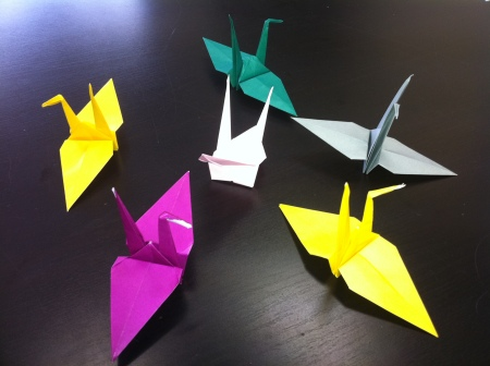 1000 cranes project One Year After
